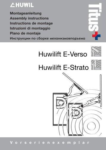 Huwilift E-Verso Huwilift E-Strato E-Strato - Lmc