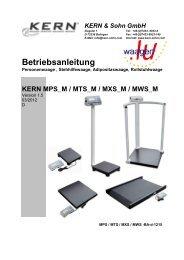 Betriebsanleitung - Index of