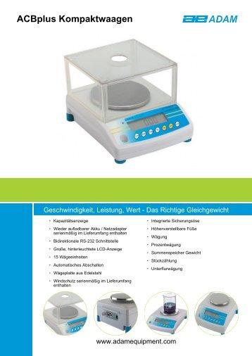 ACBplus Kompaktwaagen - Smartlux SARL