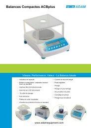 Balances Compactes ACBplus - Smartlux SARL