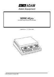 Adam Equipment SERIE AZplus