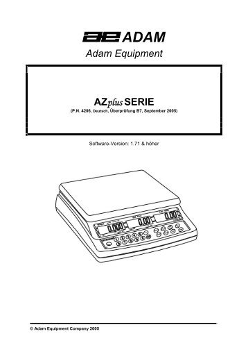 Adam Equipment