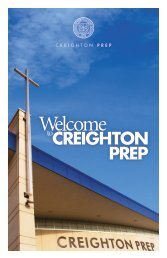 campus ministry program - Creighton Prep - Creighton University
