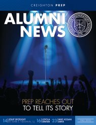View the Fall 2012 Alumni News now - Creighton Prep - Creighton ...