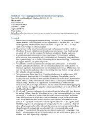 Protokoll referensgruppsmöte för Barnhörselregitret,