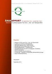 Register - Nationellt Kvalitetsregister för Öron-, Näs- och Halssjukvård