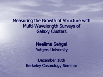 Measuring the Growth of Structure with Multi-Wavelength Surveys of ...