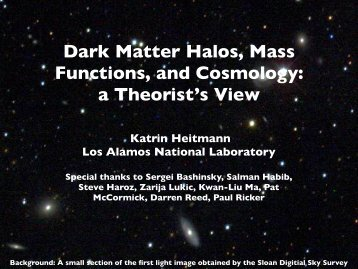 Dark Matter Halos, Mass Functions, and Cosmology: a Theorist's View