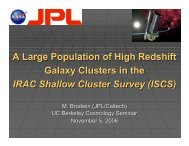 A Large Population of High Redshift Galaxy Clusters - Berkeley ...