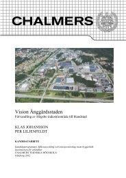Vision Änggårdsstaden - Chalmers tekniska högskola