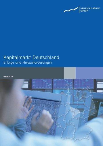 Deutsche Börse | White Paper - Deutsche Börse AG