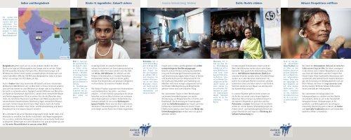 Gemeinsam für mehr Menschlichkeit - Andheri-Hilfe Bonn