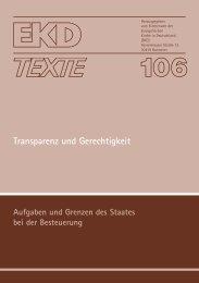 EKD-Text 106 - Evangelische Kirche in Deutschland