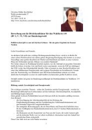 Christine Müller-Hechfellner - Die Grünen Essen