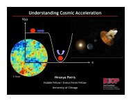Understanding Cosmic Acceleration: Connecting Theory and ...