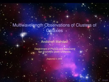 Multiwavelength Observations of Clusters of Galaxies