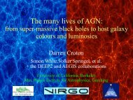 The many lives of AGN: - Berkeley Cosmology Group