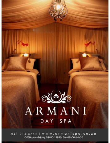 ARMANI Day Spa-28-01-2013-Pricelist.pdf - Health Spas Guide