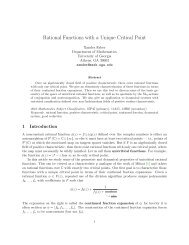 Rational Functions with a Unique Critical Point