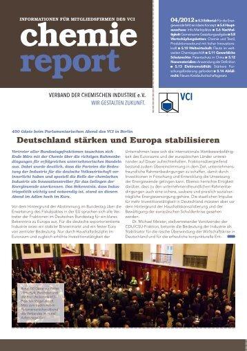 Informationen - Verband der Chemischen Industrie e.V.