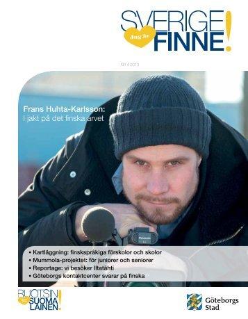 Jag är Sverigefinne nr 4/2013 - Göteborg
