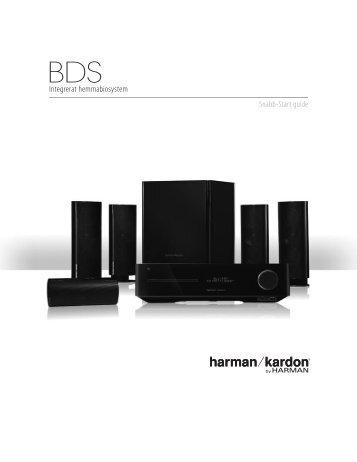 Integrerat hemmabiosystem - Harman Kardon