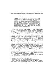 the lattice of completions of an ordered set - Mathematics ...