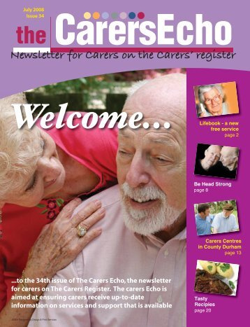 Newsletter for Carers on the Carers' register - Durham County Council