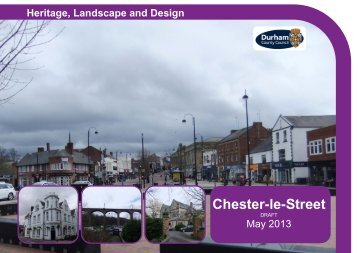 Chester Le Street Conservation Area Character Appraisal Draft