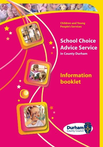 School Choice Advice Service - Durham County Council