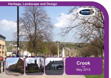 Crook Conservation Area Character Appraisal.pdf - Durham County ...