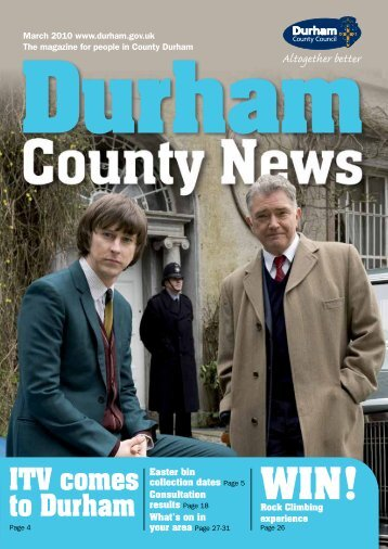 ITV comes to Durham WIN! - Durham County Council