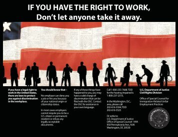 IF YOU HAVE THE RIGHT TO WORK, Don't let anyone take it ... - Ally