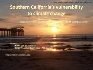 Southern California's vulnerability to climate change - NPS Inventory ...