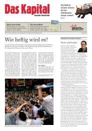 Das Kapital braucht Kontrolle - Erklärung von Bern