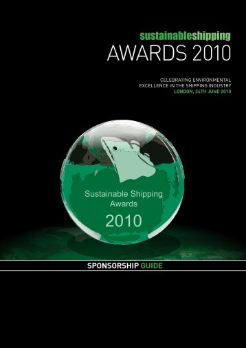 Sustainable Shipping Awards