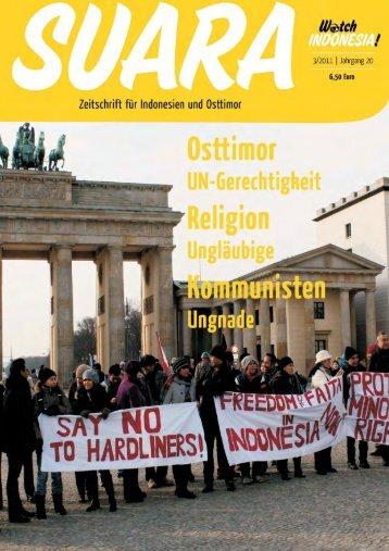 SUARA Nr. 1/2011 (Mai) - home . snafu . de