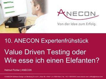 Vortrag Helmut Pichler - Anecon