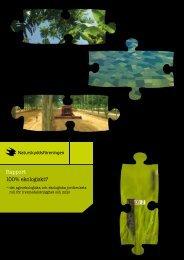 Rapport 100% ekologiskt? - Cision