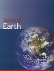 2013 Annual Meeting Materials - Stanford School of Earth Sciences ...