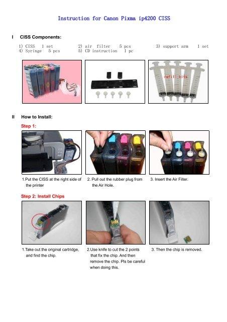 canon ip4200 manual
