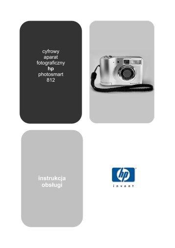 HP Photosmart 812 instrukcja obsługi