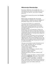 Månvarvets litteraturtips - iFokus