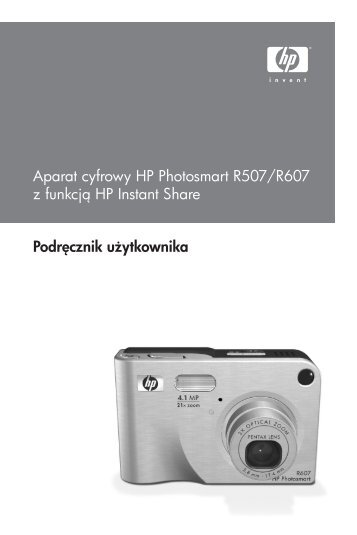 HP Photosmart R507/R607