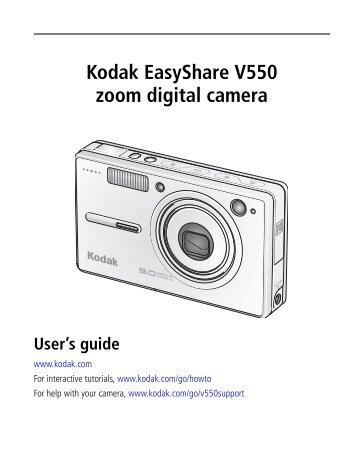 kodak easyshare cx7525 manual download