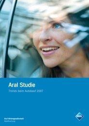 Trends beim Autokauf 2007 - Aral
