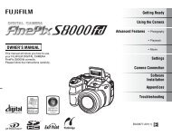 FinePix S8000 fd OWNER'S MANUAL - Directory listing for