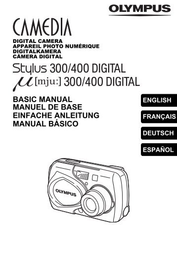 Stylus 300/400 DIGITAL, μ 300/400 DIGITAL BASIC MANUAL