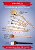 Sonderanfertigungen Sondergrößen - Maurer Pinsel - Seite 7