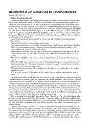Sternstunden 3: Der Turmbau und die Berufung ... - FeG Bingen